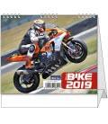 Table calendar IDEÁL - Motorbike 2019