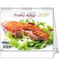 Stolní kalendář IDEÁL - Moderní kuchyně 2019