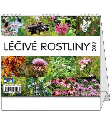 Stolní kalendář IDEÁL - Léčivé rostliny 2019