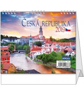 Stolní kalendář IDEÁL - Česká republika 2019