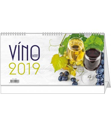 Table calendar Víno 2019