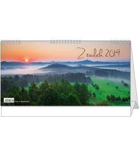 Table calendar Z toulek 2019