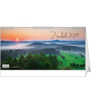 Stolní kalendář Z toulek 2019