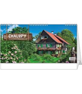 Stolní kalendář Chalupy 2019