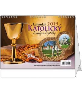 Table calendar Katolický kalendář 2019