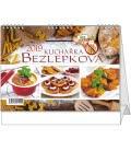 Stolní kalendář Bezlepková kuchařka 2019