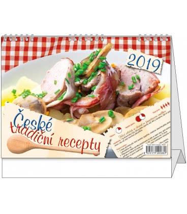 Stolní kalendář České tradiční recepty 2019