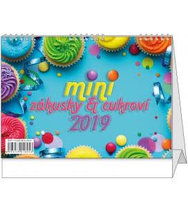 Stolní kalendář Mini zákusky a cukroví 2019