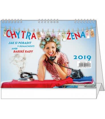 Table calendar Chytrá žena 2019