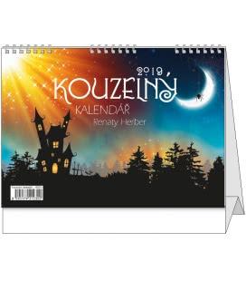 Stolní kalendář Kouzelný kalendář Renaty Herber 2019