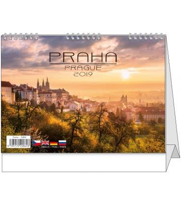 Stolní kalendář Praha 2019