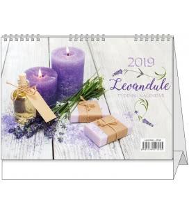 Stolní kalendář Levandule 2019