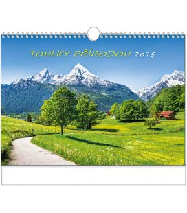 Wandkalender Toulky přírodou - A3 2019