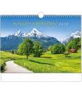 Wall calendar Toulky přírodou - A3 2019