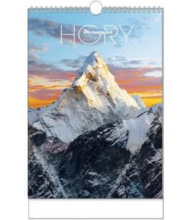 Nástěnný kalendář Hory - A3 2019