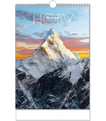 Wall calendar Hory - A3 2019