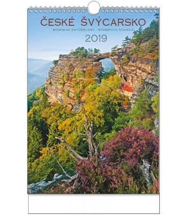 Wall calendar České Švýcarsko - A3 2019