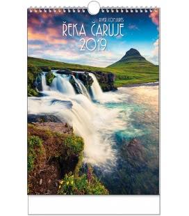 Nástěnný kalendář Řeka čaruje - A3 2019