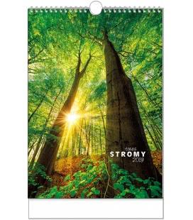 Wall calendar Stromy - A3 2019