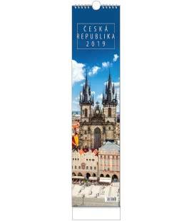 Wall calendar Kravata - Česká republika - vázanka 2019