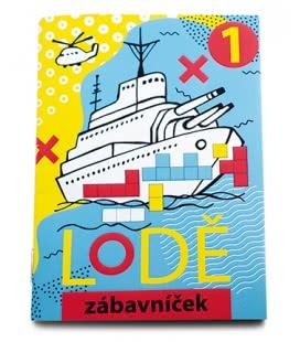 Notepad Zábavníček - Lodě 2019