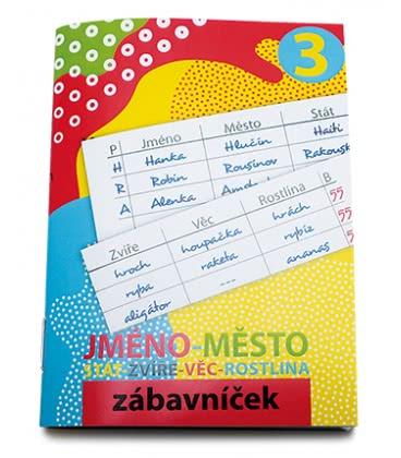 Notes Zábavníček - Jméno-město 2019