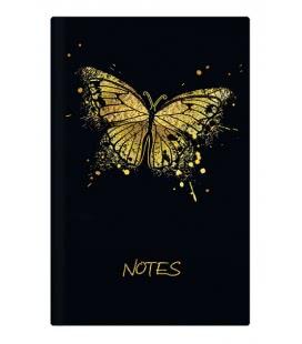 Notizbuch liniert - A5 - lamino - Motýl 2019