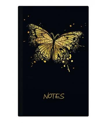 Notes linkovaný - A5 - lamino - Motýl 2019