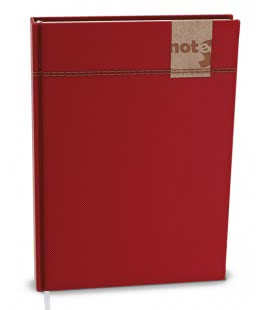 Notepad lined with a pocket A5 - denim 2019