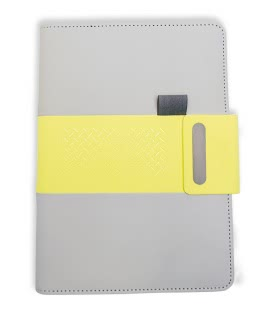 Notepad lined A5 - elegant 2019