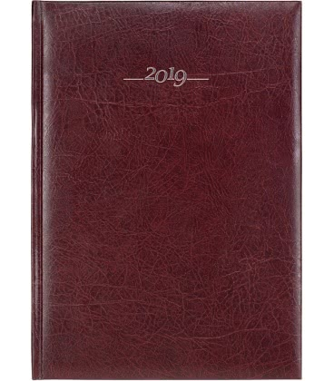 Tagebuch - Terminplaner A4 Titan braun 2019