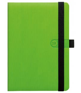 Tagebuch - Terminplaner A5 Trendy zelený 2019