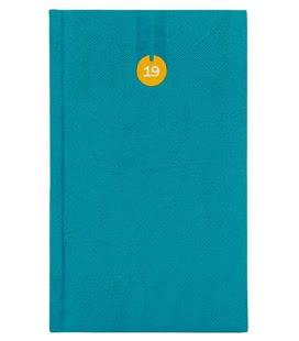 Weekly Pocket Diary Uno modrý 2019