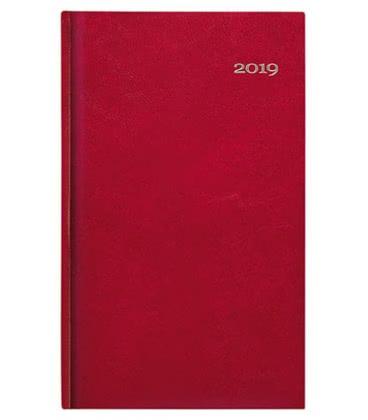 Weekly Pocket Diary Kronos červený 2019