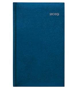 Weekly Pocket Diary Kronos modrý 2019