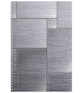 Notes A4 se spirálou čtverečkovaný Steel 2019
