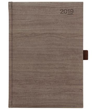 Daily Diary A5 Wood tmavý SK 2019
