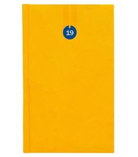 Diář týdenní kapesní Uno žlutý SK 2019