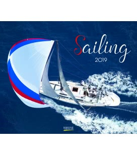Nástěnný kalendář Plachetnice / Sailing 2019