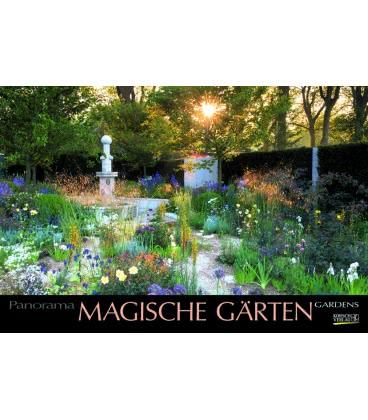 Wandkalender Magische Gärten 2019 Wandkalender Magische Gärten 2019