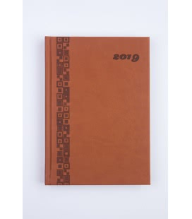Daily Diary 721 A5 Vivella color 2019