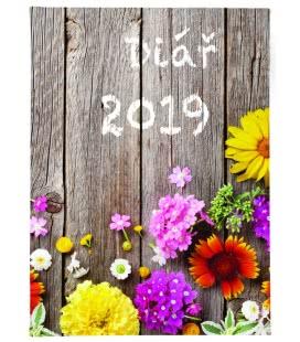 Daily Diary B6 Plot - tištěný a laminovaný potah 2019