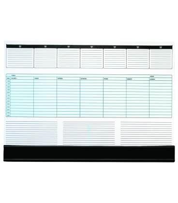Table calendar map A2 weekly UNI 55 listů + PVC klapna 2019