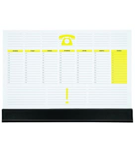 Table calendar map A3 weekly UNI 30 listů + PVC klapna 2019