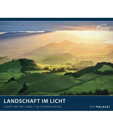 Nástěnný kalendář Krajina ve světle 2019 / LANDSCHAFT IM LICHT 2019