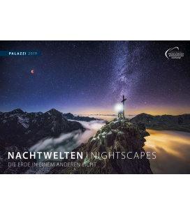 Nástěnný kalendář Noční svět 2019 / NACHTWELTEN I NIGHTSCAPES 2019