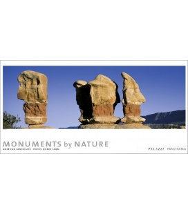 Nástěnný kalendář Monumenty přírody - věčný kalendář - PANORAMA 2019 / MONUMENTS by NATURE