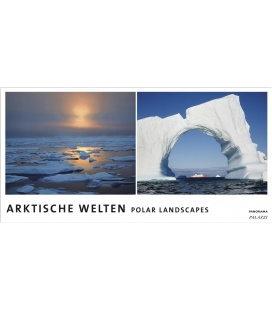 Nástěnný kalendář Polární krajiny - věčný kalendář - PANORAMA 2019 / ARKTISCHE WELTEN Pano