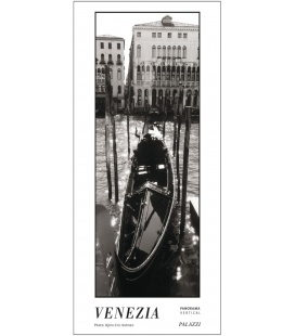 Wall calendar VENEZIA black & white Panorama Zeitlos 2019