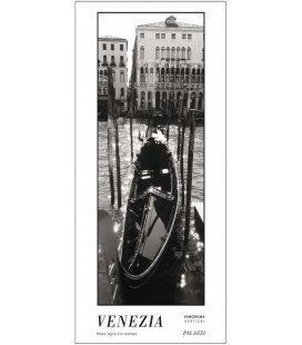 Wandkalender VENEZIA black & white Panorama Zeitlos 2019